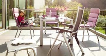 Kettler Freizeitmöbel Aluminium Outdoorgewebe