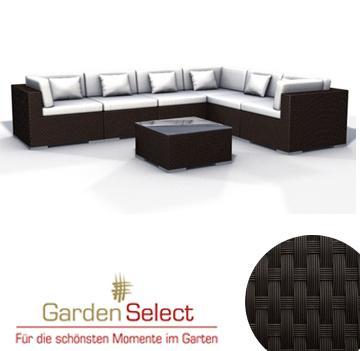 Polyrattan Loungemöbel Espcae Luxus