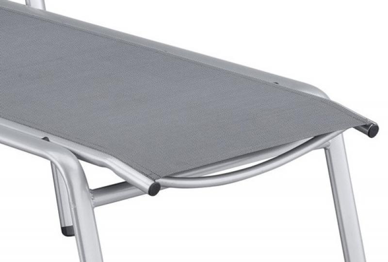 kettler cirrus stapelliege silber anthrazit. Black Bedroom Furniture Sets. Home Design Ideas