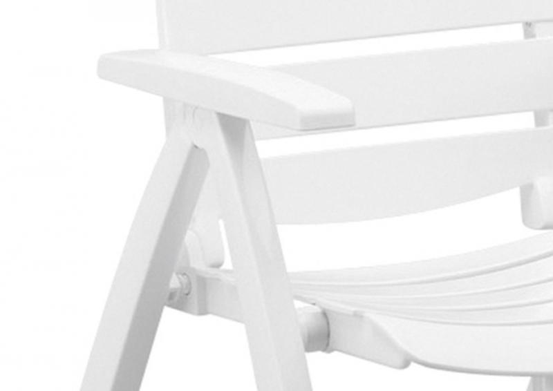 Kettler Rimini Multipositionssessel weiß-weiß