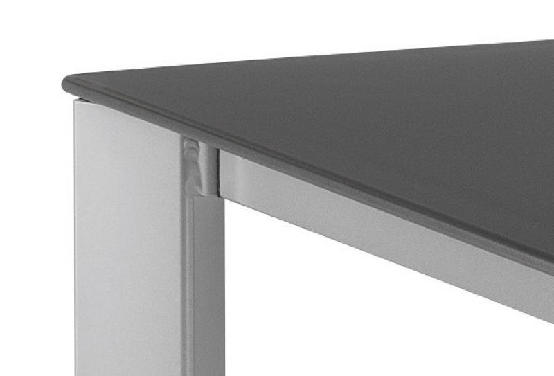 Kettler Lofttisch 160x95cm Kettalux Plus silber-anthrazit