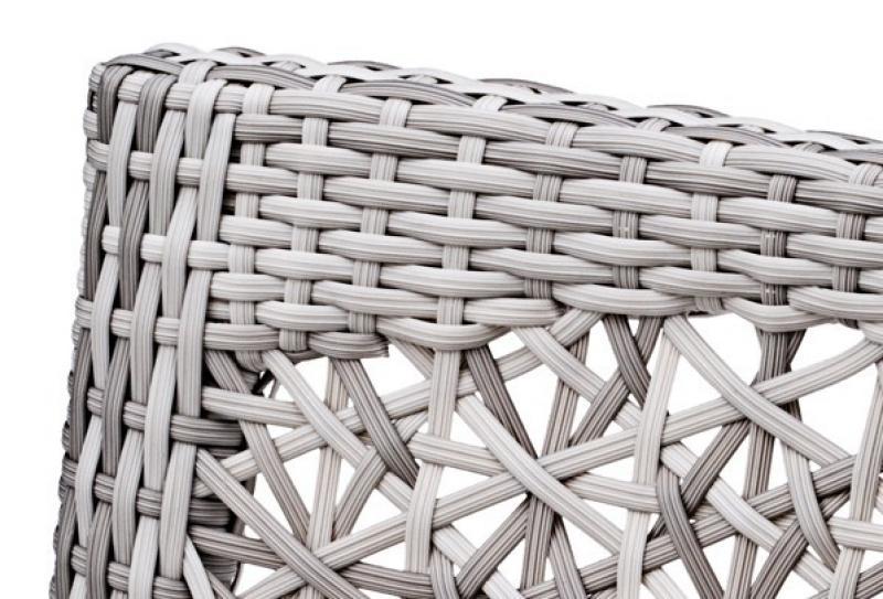 Landmann Rattan Sessel Fiorana Sessel - Farbe: Silk White