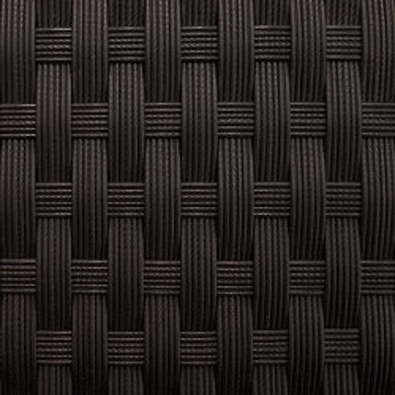 Rattan XXL Loungemöbel Set Espace Start 1 - 3-teilig - Farbe: dunkelbraun