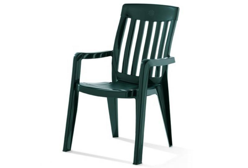 Sieger Stapelsessel PALMA - Farbe: smaragdgrün