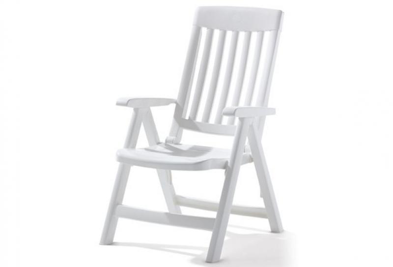 Sieger Klappsessel PALMA - Farbe: weiß