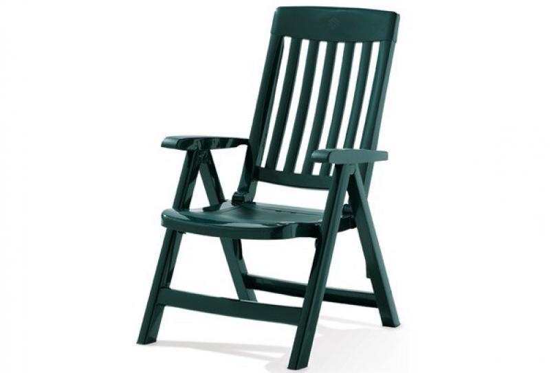Sieger Klappsessel PALMA - Farbe: smaragdgrün