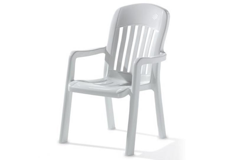 Sieger Stapelsessel COMTESSE - Farbe: weiß