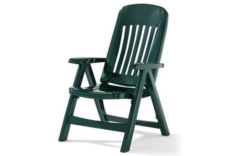 Sieger Klappsessel COMTESSE - Farbe: smaragdgrün