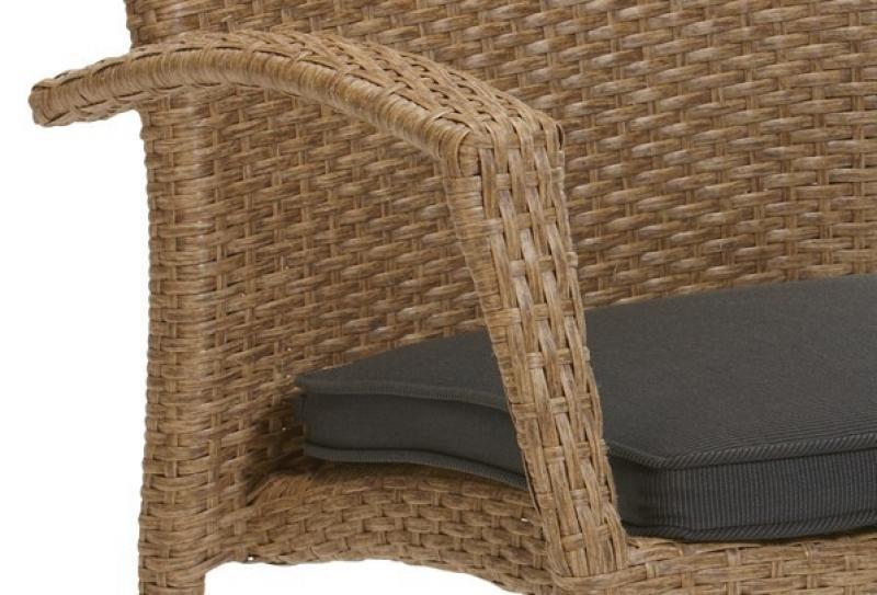 Kettler Freizeitmöbel Kettler Dining Sessel Medoc mit Kissen  Farbe
