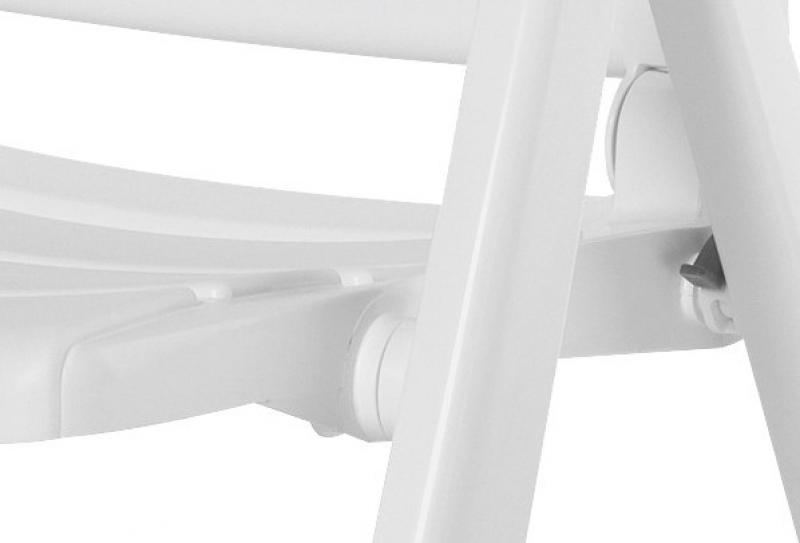 Kettler Multipositionssessel Nizza - Farbe: weiß
