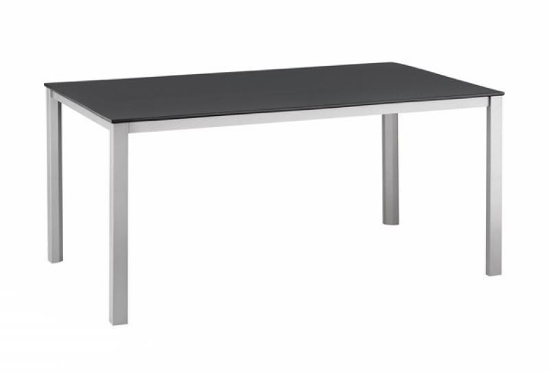 Kettler Kettalux Lofttisch Advantage 160x95cm - Farbe: silber-anthrazit
