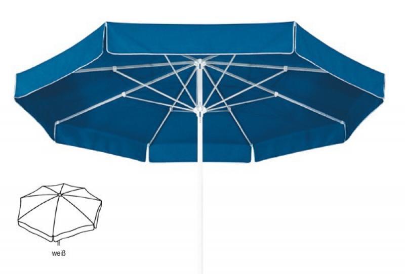Best Großschirm Ibiza 300cm/8-tlg. weiß