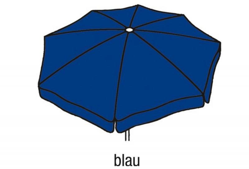 Best Großschirm Mallorca 300x300cm/8-tlg. blau