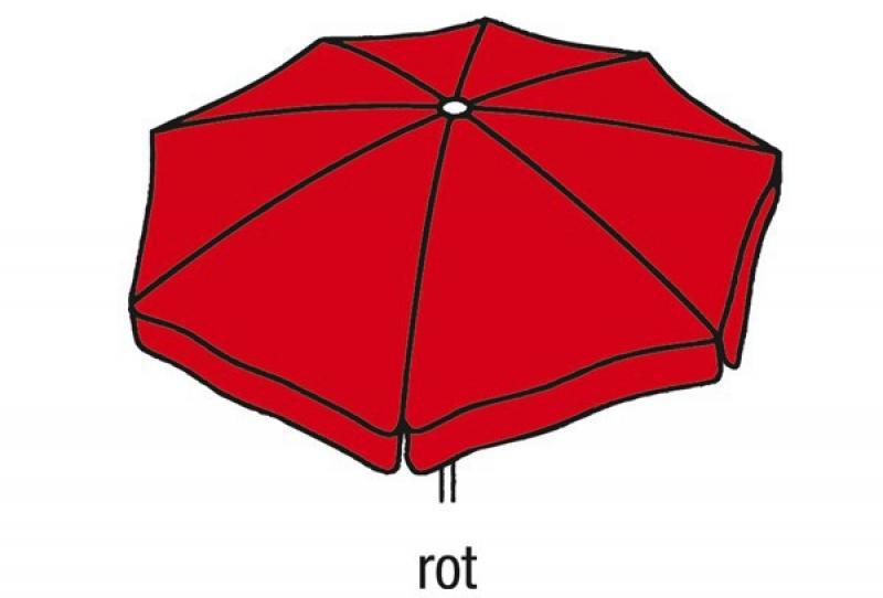 Best Großschirm Mallorca 300x300cm/8-tlg. rot