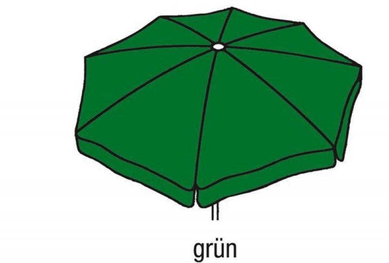 Best Großschirm Ibiza 400cm/8-tlg. grün