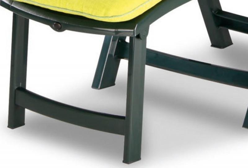 Klappsessel Mit Fusteil ~ Best klappsessel deck chair florida grün inkl polster