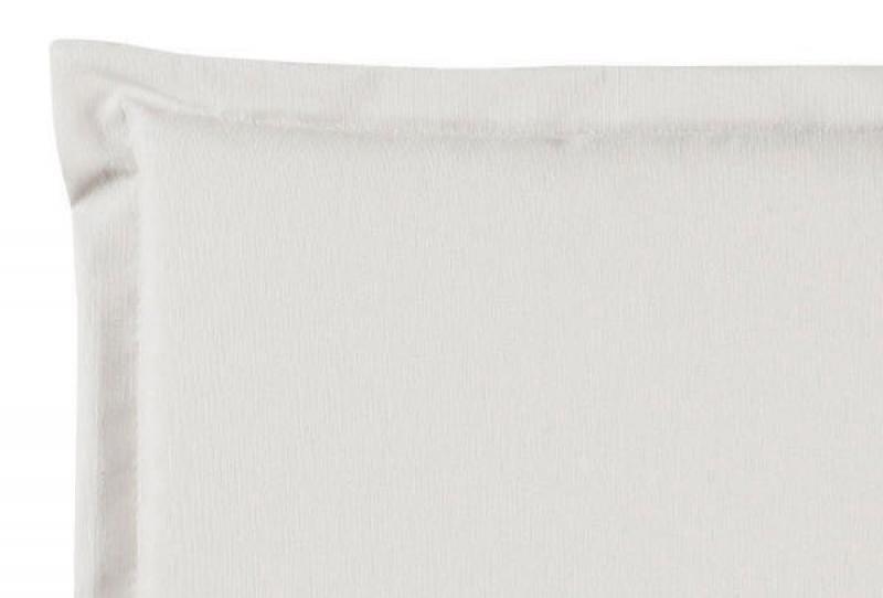 Best Sitzkissen mit Stehsaum 46 x 46 x 5cm Dessin-Nr.: 1251 Farbe: weiß
