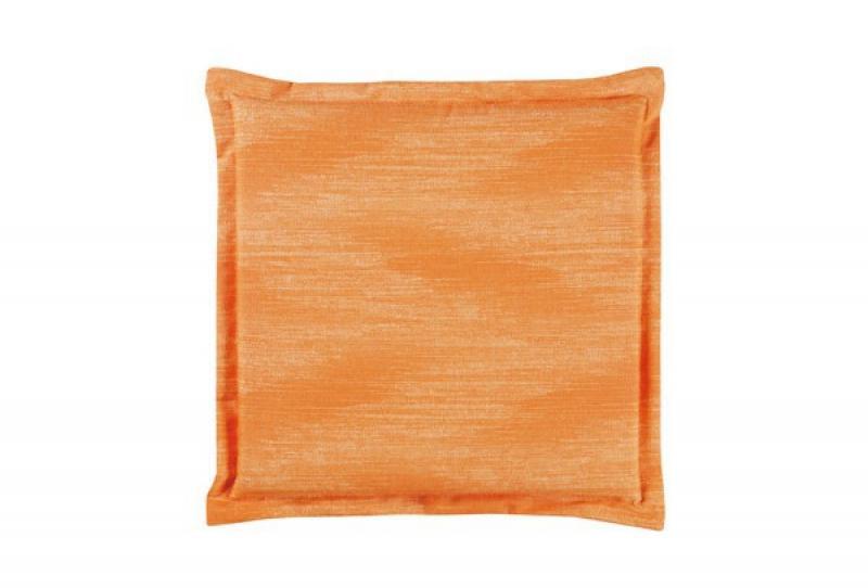 Best Sitzkissen mit Stehsaum 46 x 46 x 5cm Dessin-Nr.: 1478 Farbe: orange