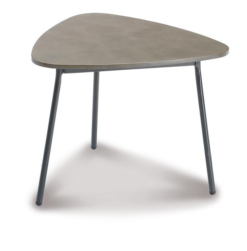 Best Beistelltisch Andros mittel - 60x57x45 cm - Stahl/Beton