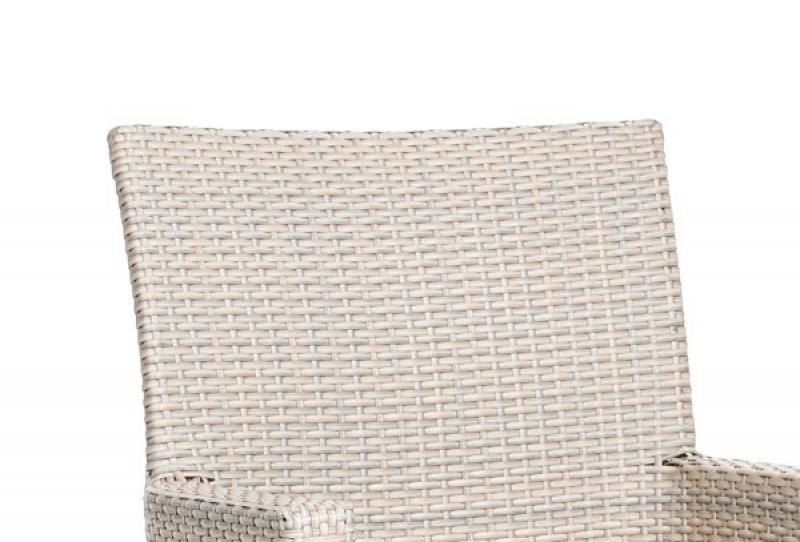 Gartenmobel Rattan Vase :  Sessel Best Korbsessel Alicante, Farbe Teakholzalabaster