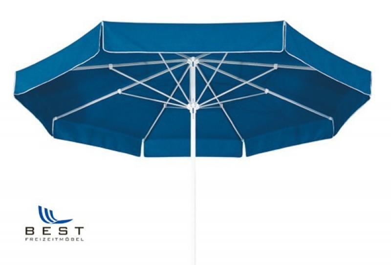 Best Großschirm Ibiza 300cm/8-tlg. blau