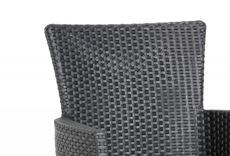 Gartenmobel Metall Rund :  Sessel Best DiningSessel Napoli, Farbe graphithellgrau