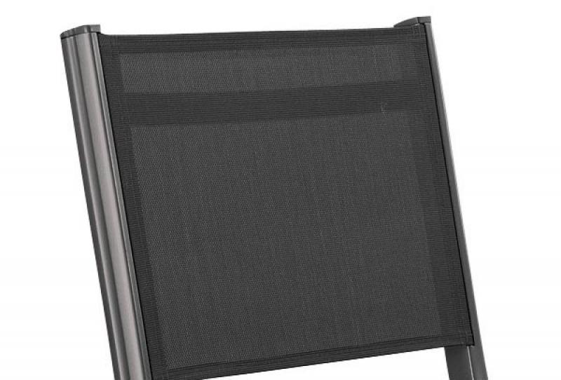Kettler Basic Plus Klappstuhl für Balkon, anthrazit-anthrazit