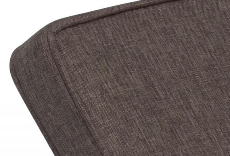 Kettler Polsterauflage für Liege Bistro, Dessin 839 Mocca-Braun - 206x66x6 cm
