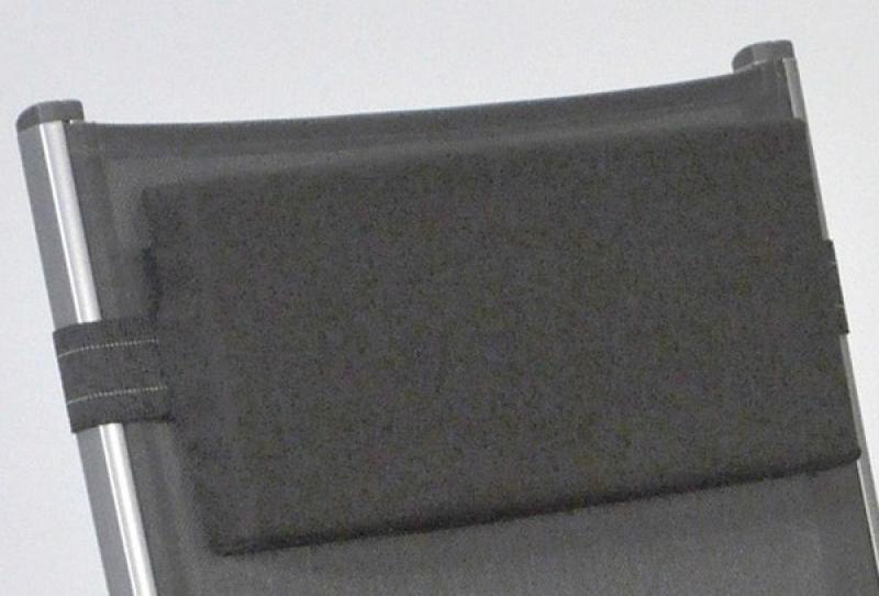 Kettler Nackenpolster flach 40x18x4cm - anthrazit