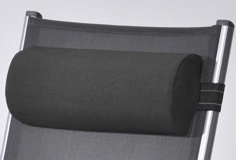 Kettler Nackenpolster halbrund 40x7,5cm - anthrazit