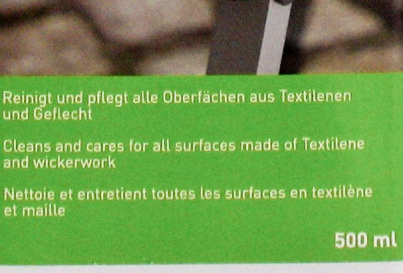 Kettler Textilene & Geflecht Reiniger