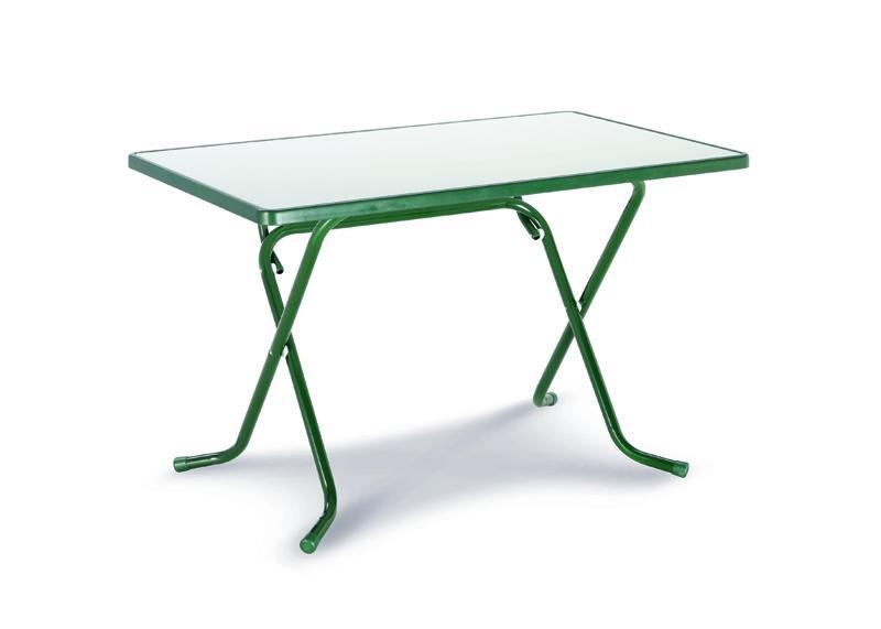 Best Scherenklapptisch Primo eckig 110x70cm grün