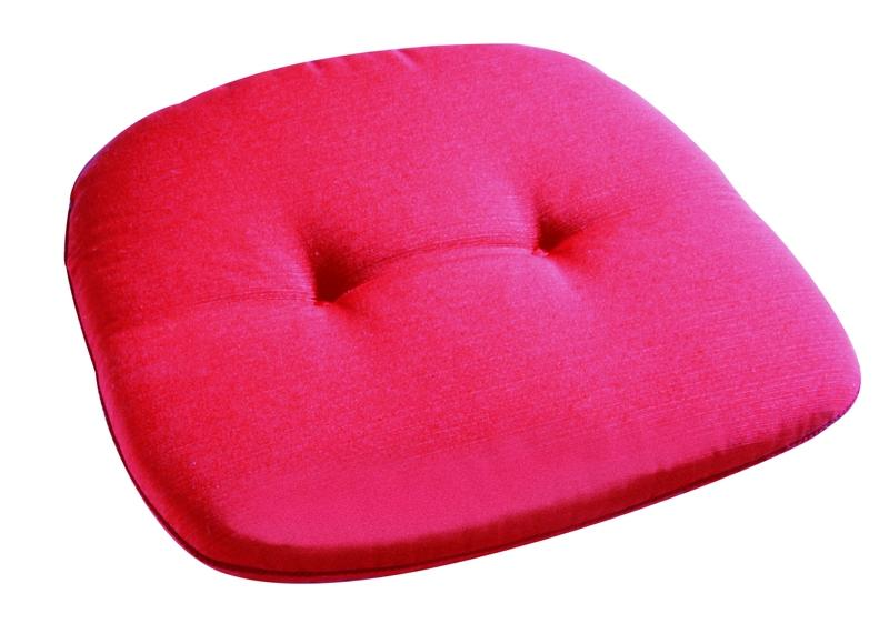 Best Monoblock Sitz 45 x 45 x 5cm Dessin Nr.: 1330 Farbe: rot