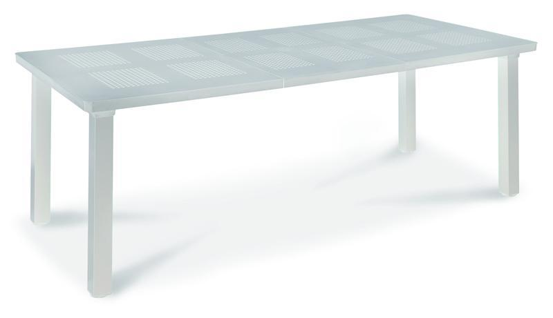 Best Aluminiumgarnitur Messina-Regie-Set mit Rialto Ausziehtisch 160/220 cm - 7-teilig