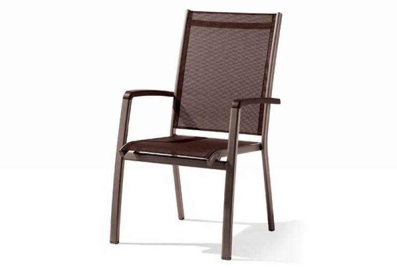 sieger stapelsessel bodega farbe marone mocca. Black Bedroom Furniture Sets. Home Design Ideas