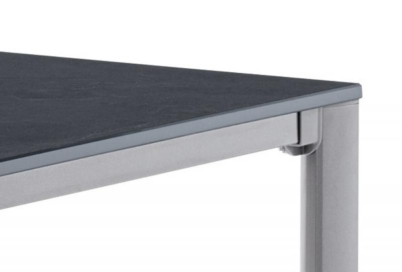 Sieger Exclusiv Tisch Puroplan Schiefer anthrazit 95x95cm ...