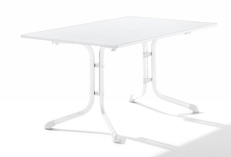 sieger boulevard klapptisch puroplan marmor wei 140x90cm gestell wei. Black Bedroom Furniture Sets. Home Design Ideas