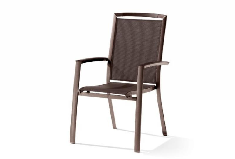 sieger stapelsessel trento farbe marone mocca. Black Bedroom Furniture Sets. Home Design Ideas