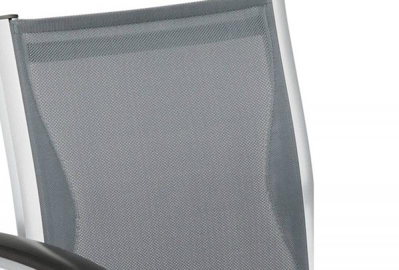 Kettler Arenga Dining Sessel silber-delphingrau