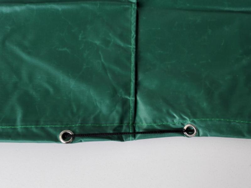 Gartenmöbel Schutzhülle - 72 cm x 72 cm x 34 cm - quadratisch - Farbe dunkelgrün