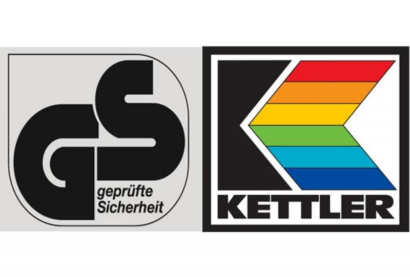 Kettler Hocker BasicPlus - Farbe: silber-anthrazit