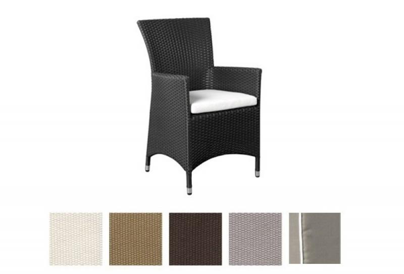 Kissenbezug Linea Sitz- Maße: 44 x 45 x 5 - Farbe: hellgrau