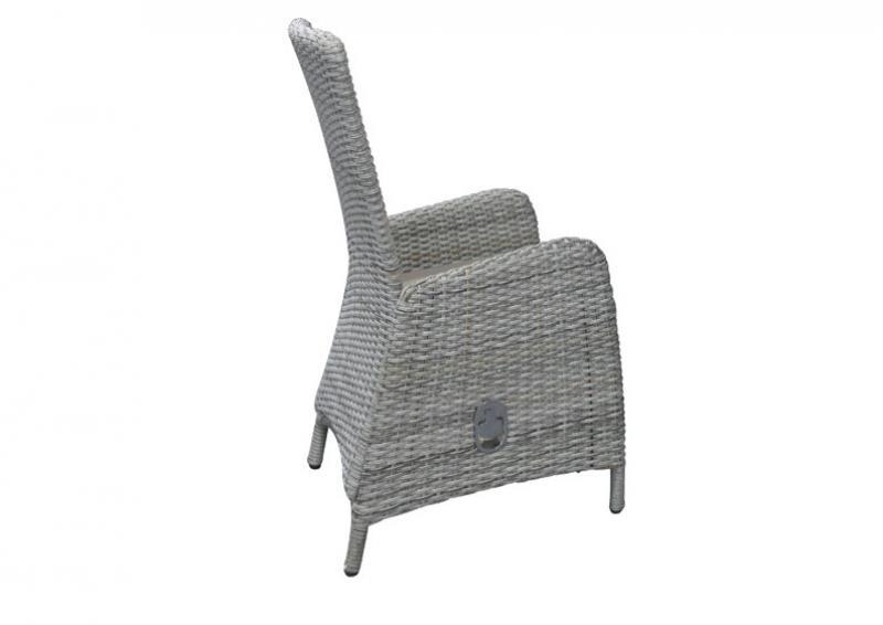 polyrattan sessel verstellbar grau williamflooring. Black Bedroom Furniture Sets. Home Design Ideas