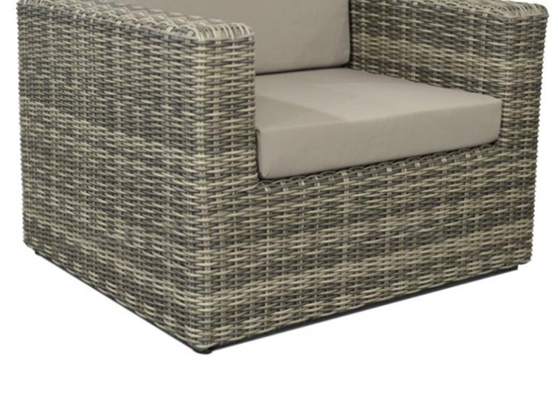 rattan lounge sessel grau. Black Bedroom Furniture Sets. Home Design Ideas