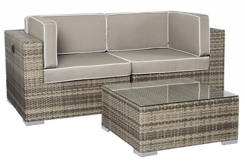 loungem bel outdoor grau. Black Bedroom Furniture Sets. Home Design Ideas