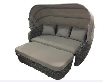 sonneninsel mit dach braun. Black Bedroom Furniture Sets. Home Design Ideas