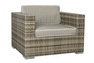 loungesessel aus polyrattan für terrasse oder garten hier günstig, Garten und Bauten