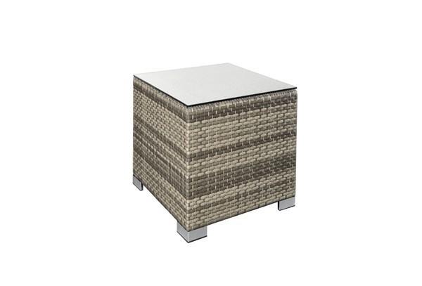 rattan loungeelement exclusive beistelltisch farbe. Black Bedroom Furniture Sets. Home Design Ideas
