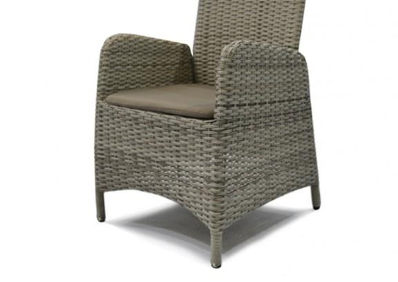 rattan relaxsessel gartenstuhl rotterdam farbe grau braun meliert. Black Bedroom Furniture Sets. Home Design Ideas
