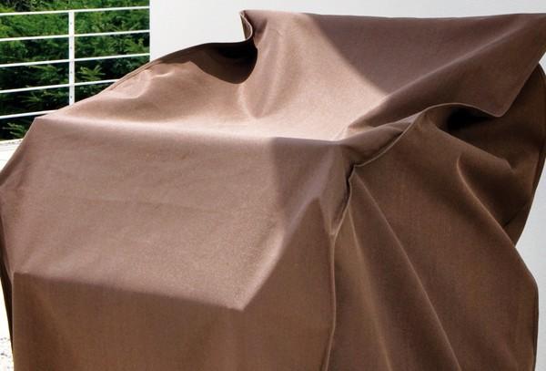 landmann garvida schutzh lle f r strandkorb 160x150x115cm. Black Bedroom Furniture Sets. Home Design Ideas